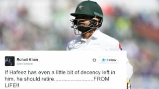 Mohammad Hafeez trolled after yet another failure in England - Pakistan Test series