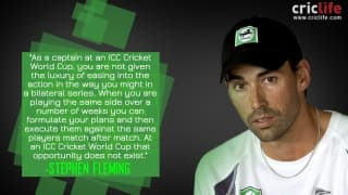 Stephen Fleming on captaincy ahead of ICC Cricket World Cup 2015