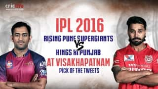 IPL 2016, Match 53, Pick of the tweets: Rising Pune Supergiants vs Kings XI Punjab at Visakhapatnam