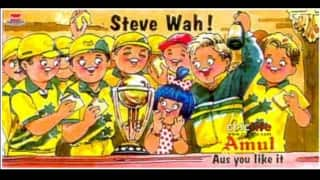 Steve Waugh leads Australia to glory at the ICC Cricket World Cup 1999