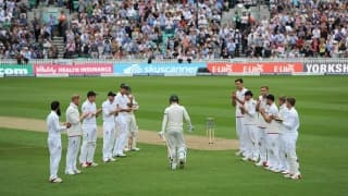 Video: Mark Wood speaks about the 'guard of honour' given to Michael Clarke