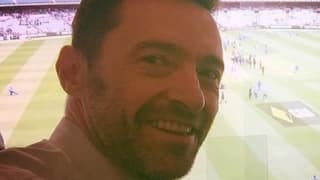 Hugh Jackman pays visit to the Boxing Day Test at the iconic MCG