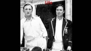 When Len Hutton asked Denis Compton if there are 'easier ways to make a living'!