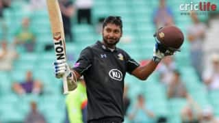 Video: Kumar Sangakkara's 166 helps Surrey find a place in RL Cup final