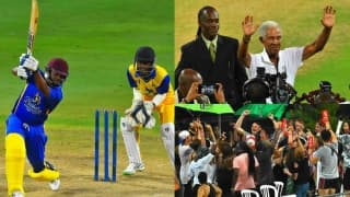 PHOTOS: Brian Lara, Curtly Ambrose and others play in T20 match to mark Sir Garry Sobers' 80th birthday