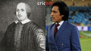 Shakespeare's soul thanks Rameez Raja from heaven
