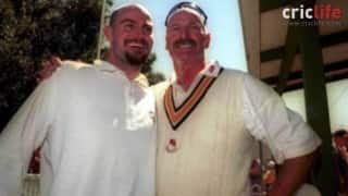 When Dennis Lillee and his son Adam demolished Pakistan batting line-up