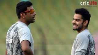 Virat Kohli: Would love to team up with Ashwin for tennis doubles