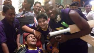 IPL 2016: KKR captain Gautam Gambhir bows to team's biggest fan the 'boss'; seeks his blessings