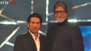 Sachin Tendulkar reciprocates Amitabh Bachchan's act of humility on Twitter