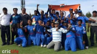 India win Cricket World Cup for Blind