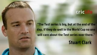 India's priority is World Cup, not Test series: Stuart Clark