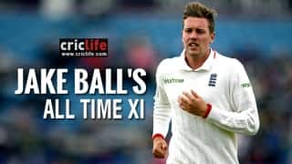 VIDEO: Matthew Hayden, Sachin Tendulkar to open batting in Jake Ball's All-Time XI