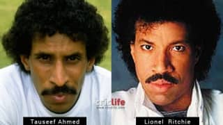 Tauseef Ahmed and Lionel Richie