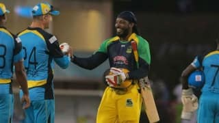 And once again Chris Gayle prevails!