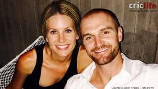 Jason Krejza and wife Leah Eleanor