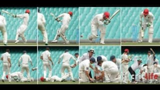 Phil Hughes and 10 other batsmen who were felled by vicious bouncers