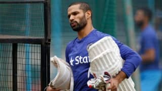 When Sanjay Bangar used fourth stump to help Shikhar Dhawan with his technique