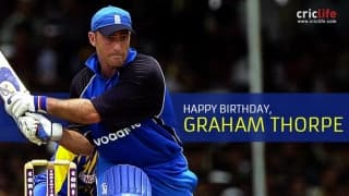 Graham Thorpe: 13 facts to know about the former England batsman
