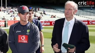 Michael Clarke to join Bill Lawry as commentator for Boxing Day Test