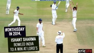 India win Test at Lord's after 28 years!