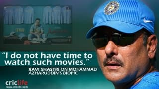 Ravi Shastri is not interested in watching movies like Azhar