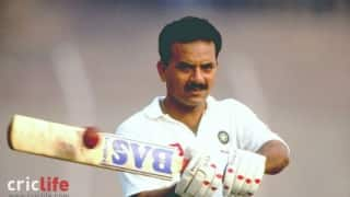 When Madan Lal was bowled in a bizzare way