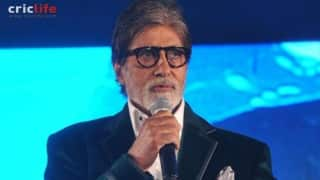 Amitabh Bachchan thrilled about India-Pakistan ICC World Cup 2015 match commentary
