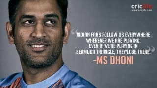 MS Dhoni heaps praise on Indian cricket fans after first T20I in Florida