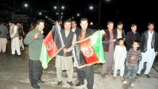 Afghanistan's historic series win sparks celebrations across the war-torn nation