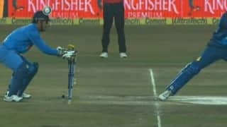 Video: MS Dhoni's lightening quick stumpings during India vs Sri Lanka, 2nd T20I