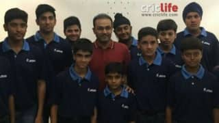 Sehwag Cricket Academy team tour to United Kingdom