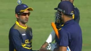 Handshake controversy with MS Dhoni: Gautam Gambhir slams media for not verifying facts