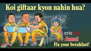 Amul's take on Lalit Modi's allegations against Suresh Raina, Ravindra Jadeja and Dwayne Bravo