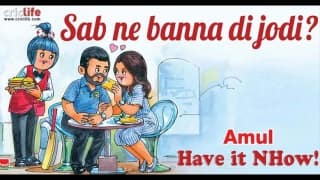 Amul takes a stand on Virat Kohli and Anushka Sharma saga
