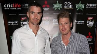 Kevin Pietersen, James Faulkner add another one to their series of banter