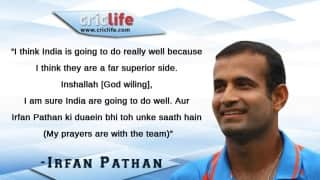 ICC Cricket World Cup 2015: Irfan Pathan feels India a far superior side than Pakistan
