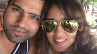 Rohit Sharma arranges for a 'sweet-surprise' for wife Ritika on her birthday