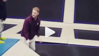 Video: And you thought Ben Stokes can only play cricket!