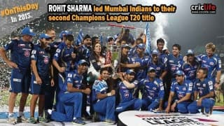 Mumbai Indians lifts their second Champions League Twenty20 trophy
