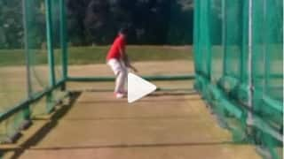 Video: Graeme Smith revisits past, swings his bat in the nets