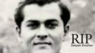 India's oldest living Test cricketer Deepak Shodhan passes away aged 87