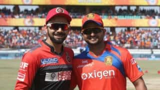 LIVE Streaming GL vs RCB , IPL 2016, Qualifier 1: Watch Free Live Telecast of Gujarat Lions vs Royal Challengers Bangalore at Bengaluru on Starsports.com