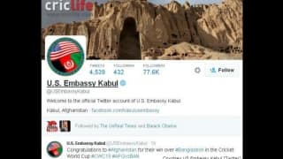 ICC Cricket World Cup 2015: US Embassy knows the result of the match before it's over!