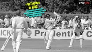 The magical knock that inspired India to World Cup 1983 triumph