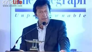 Imran Khan's Tiger Pataudi Memorial Lecture in 2012