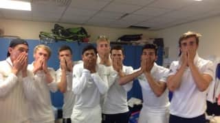England under-19 players recreated'Oh my Broad' moment