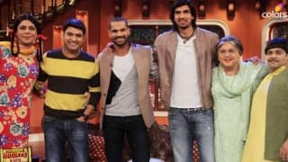 Dhawan, Ishant visit Comedy Nights with Kapil