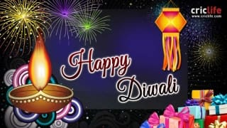 Cricket fraternity wishes Happy Diwali on Twitter