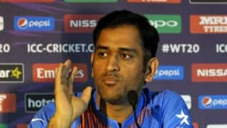 MS Dhoni yet again comes up with an epic reply when asked on his upcoming break